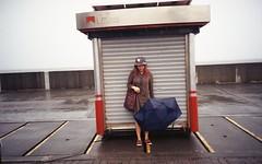 Majo at MOA (walasiteodito) Tags: ricoh r1s kodak gold 200 iso film camera 35mm photography moa mall asia philippines pasay baywalk rain umbrella portrait
