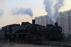 I_B_IMG_9127 (florian_grupp) Tags: asia china steam train railway railroad fuxin liaoning sy coal mine 282 mikado steamlocomotive locomotive