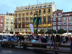 Burgos retorna al medievo (Lumiago) Tags: plazamayor burgos castillaylen espaa spain