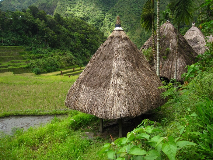 Home in Batad, Philippines