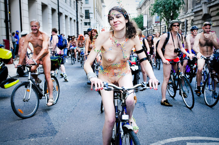 World Naked Bike Ride @ London 2011