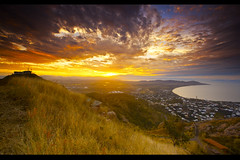 Castle Hill Sunset (accesser) Tags: sunset sky work australia lee queensland townsville worktravel manualhdr canonef1740mmf40lusm ndgradfilters castlehilltownsville 5dii resizewebhdrmg3730jpg