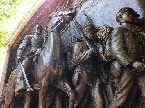 54th Massachusetts Memorial in Boston Common