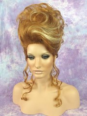 Elegant Blonde Mix Up-do (mgwigs4u) Tags: gay cd tranny transvestite dragqueen crossdresser transsexual dragqueenwigs