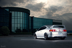 Jay's RSX (Evano Gucciardo) Tags: lighting newyork car honda nikon flash wheels dramatic automotive rochester vehicle rps lower tuner flush acura jdm strobe stance rota 18105 rsx wescott hinda d90 strobist worldcars