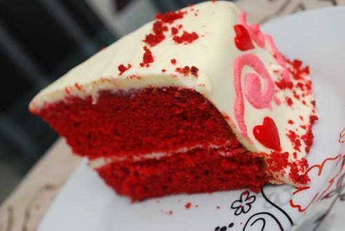 Resepi Kek Baldu Merah Red Velvet Cake Recipe.html | The Temple Pub