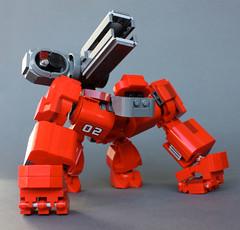 Main Battle A_P_E (m_o_n_k_e_y) Tags: robot lego fi sci mecha moc