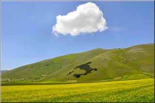 nuvola sull'Italia