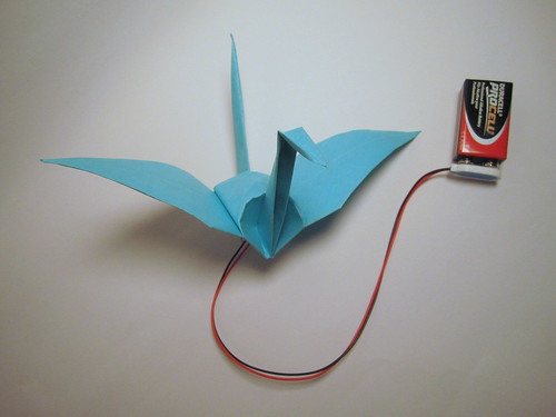 Origami Flapping bird:Easy Paper Flapping bird Making Instructions ... | 375x500