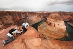 Horseshoe Bend III (laverrue) Tags: red arizona rock river colorado bend grandcanyon canyon glen explore page coloradoriver horseshoebend explored kingbend