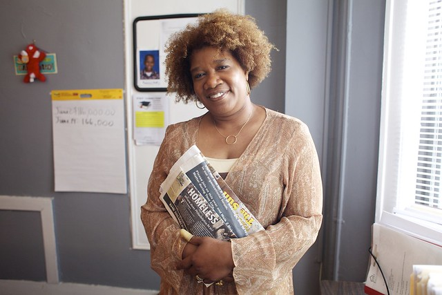 Delphia Simmons of Detroit is a Kiva donor