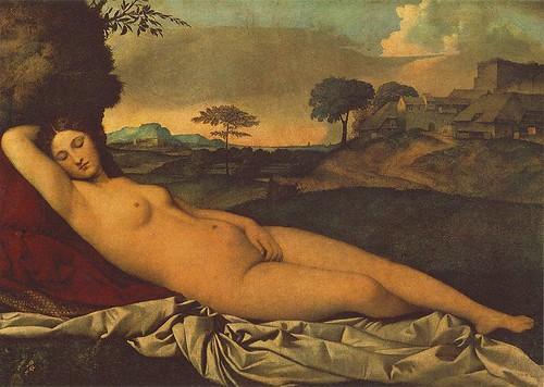The Sleeping Venus or The Dresden Venus, 1510, by Giorgione