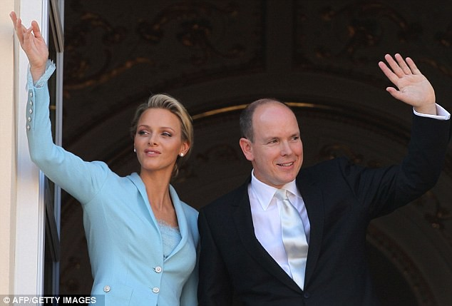 Monaco bathed in fireworks for wedding of Prince Albert and his 'runaway bride'..   8
