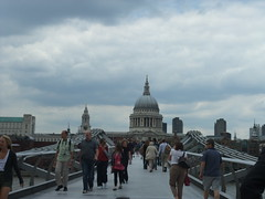 St Paul's from bridge