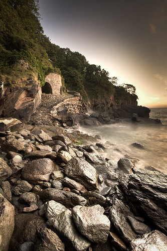 470/1000 - Woody Bay Sunrise 2 by Mark Carline