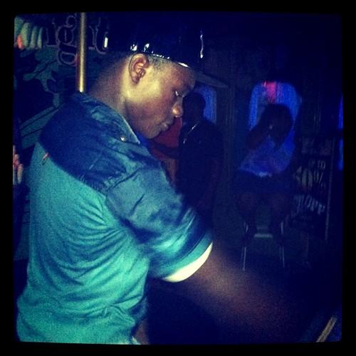 Calvin dances #jamaica