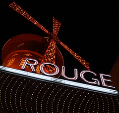 Moulin Rouge at Night - Montmartre, Paris (ChrisGoldNY) Tags: city travel urban paris france french europa europe european forsale eu montmartre viajes posters francia vacations bookcovers albumcovers parisien challengewinners thechallengefactory chrisgoldny chrisgoldberg chrisgold chrisgoldphotos
