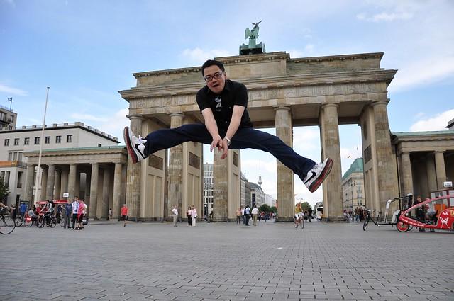 柏林布兰登堡大门 Brandenburger Tor Berlin