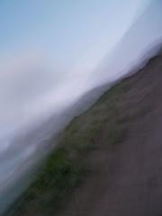 Dunes and Hills (Steve Taylor (Photography)) Tags: newzealand christchurch motion blur art beach dune canterbury hills nz newbrighton intentionalcameramovement waimairi