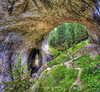 Chudnite Mostove - The Marvelous Bridges (Didenze) Tags: travel light panorama texture rock landscape europe arches erosion bulgaria cave hdr smolyan chudnitemostove rhodopimountains didenze themarvelousbridges