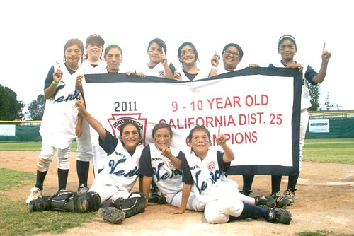 North Venice Little League 9-10 year old All-Star girls