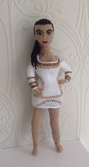 #KimKardashian #knitteddoll my #copyright photo and knitted design (Denise Salway) Tags: uk wool up wales design ally knitting doll dolls kim designer handmade witch cara knit yarn textile karl tribute welsh awards knitted denise keeping knitter lagerfeld designed finalist the pally kardashian salway welshknitting celebknitteddoll