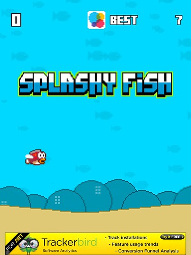 Splashy Fish Main Menu: screenshots, UI