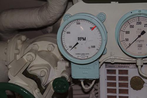 Instrumentos en Museo Naval Submarino O'Brien