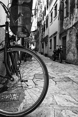 / Corfu (Vasilis Mantas) Tags: sea summer bw white black bike bicycle canon islands path greece motorcycle corfu 1740 ionian 500d 2013 vmantas vmantasphotography