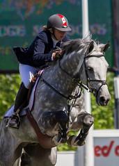 Jill Henselwood - Quidam Blue (Heidi Schuyt) Tags: horses calgary jumping equestrian showjumping sprucemeadows encana jillhenselwood quidamblue