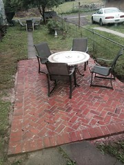 """Brick Patio • <a style=""""font-size:0.8em;"""" href=""""http://www.flickr.com/photos/76001284@N06/14196055527/"""" target=""""_blank"""">View on Flickr</a>"""