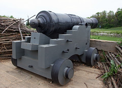 Carlisle, PA - 18th Century Redoubt Heavy Cannon 2 (dlberek) Tags: cannon defense carlislepa redoubt revolutionarywarartillery unitedstatesarmyheritagecenter