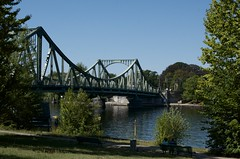 Glienicke Bridge, Potsdam (Mount Fuji Man) Tags: glienickerbridge brucke potsdam germany deutschland glienickebridge glienickerbrucke