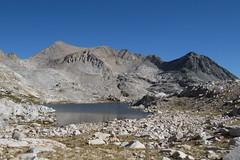 Helen Lake from JMT east of Muir Pass (jlcummins - Washington State) Tags: johnmuirwilderness wilderness california backpack hike jmt