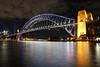 Sydney Harbour Bridge (lukedrich_photography) Tags: australia oz commonwealth أستراليا 澳大利亚 澳大利亞 ऑस्ट्रेलिया オーストラリア 호주 австралия newsouthwales nsw canon t6i canont6i history culture sydney سيدني 悉尼 सिडनी シドニー 시드니 сидней metro city vivid night light dark longexposure harbour bridge steel arch rail train vehicle bicycle pedestrian transport cbd centralbusinessdistrict northshore view coathanger portjackson bradfiled road highway expressway cahill park overlook skyline viewpoint cityscape water architecture jeffrey street wharf