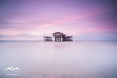 (Joaquim Pinho Photography) Tags: brighton east sussex uk england south joaquim pinho west pier long exposure ray masters benro sea beach sunrise nikon landscape photography