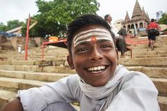 Priest (alfieianni.com) Tags: india priest people portrait hinduism religion boy young teen brhaman brahman varanasi