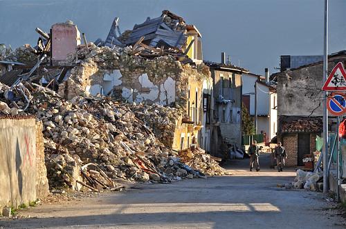 Terremoto Abruzzo - foto di Darkroom Daze