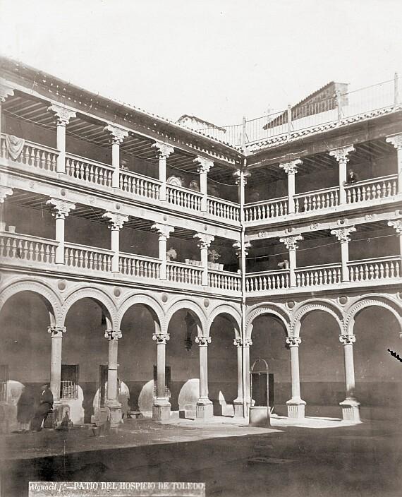 Convento de San Pedro Mártir. Fotografía de Casiano Alguacil a finales de siglo XX. Ayuntamiento de Toledo
