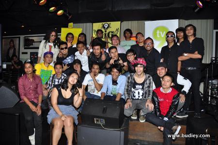 8 kumpulan terpilih untuk Battle of the Indie Bands (2)