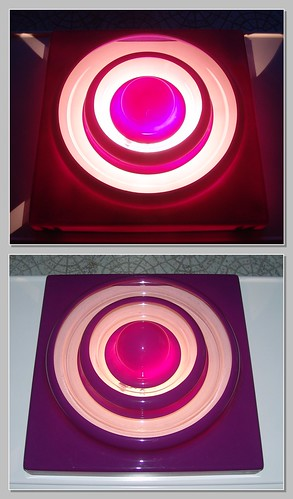 Violet Panton Ring Lamp | Design Verner Panton | powered by tagwerc