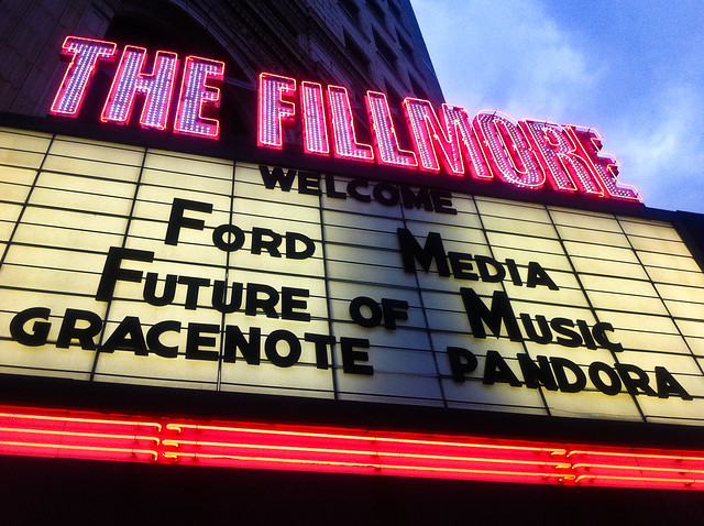 The Fillmore Marquee