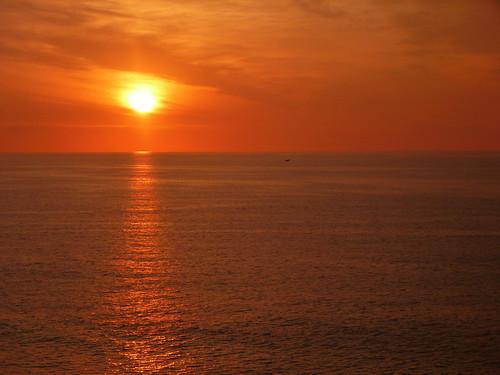Coucher de Soleil à Viña del Mar