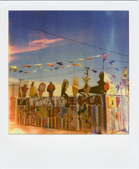 (Nick Leonard) Tags: vegas summer sky film analog polaroid sx70 colorful lasvegas nevada nick flags characters partystore partysupplies instantfilm epson4490 sotre firstflush colorshade nickleonard partysupply lapinataloca polaroidsx70model2 theimpossibleproject ndpackfilter px680 px680ff