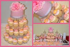 Ashlynne's Baptism (Klaire with a Cake) Tags: pink orange table dessert little baptism vanilla tlc macarons cupcakery klairescupcakes