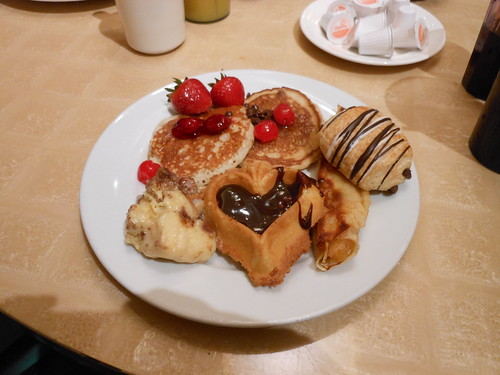 Breakfast Buffet Desserts