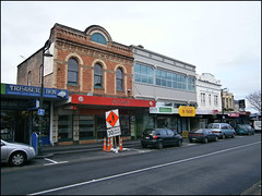 Old buildings, Onehunga Mall