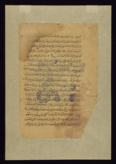 Four leaves from the Arabic version of Dioscorides' De materia medica, Text page, Walters Manuscript W.750Ab (Walters Art Museum Illuminated Manuscripts) Tags: illustration iran science arabic medicine manuscript islamic waltersartmuseum 13thcentury thirteenthcentury httpthedigitalwaltersorg