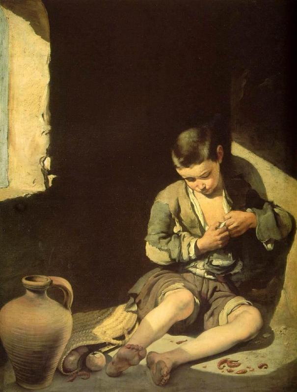 Joven mendigo, Bartolomé Esteban Murillo