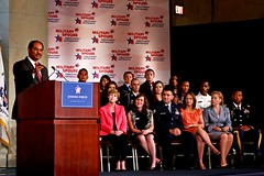 Joining Forces: Launching the Military Spouse Employment Partnership